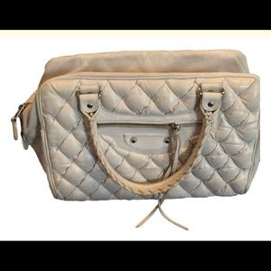 Balenciaga matelasse MM quilted leather satchel